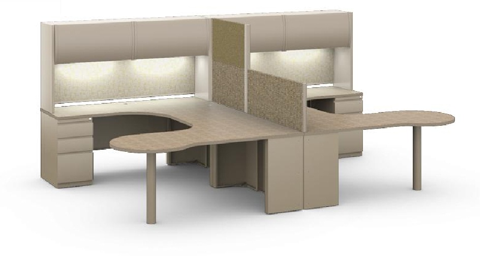office desk for two people. Wonderful People 2 Person Workstation L Shape Two Office Peninsula Desk For People O