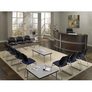 The Office Leader Ofm 55292 Reception Desk Workstation