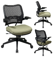 Picture of Office Star 13-7N1P3, Mid Back Ergonomic Office Task Mesh Chair
