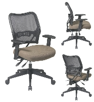 Picture of Office Star 13-7N9WA, Mid Back Ergonomic Office Task Mesh Chair