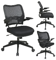 Picture of Office Star 13-37N1P3, Ergonomic Mid Back Mesh Office Task Chair