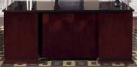 """Picture of Office Star Mendocino MENTYP3, 30"""" x 66"""" Double Pedestal Veneer Office Desk"""