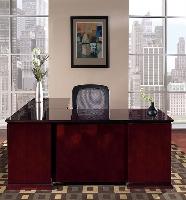 Picture of Office Star Mendocino MENTYP9 Veneer L Shape Office Desk Workstation