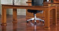 """Picture of Office Star Mendocino MEN04 Veneer 72"""" Table Desk"""