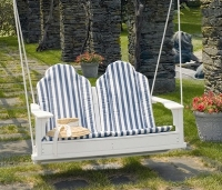 Picture of Seaside Adirondack Outdoor Two Seat Loveseat Swing