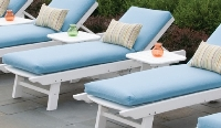 Picture of Seaside Kingston Outdoor Polymer Chaise Lounge