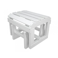 Picture of Polywood Adirondack OTGL, Recycled Plastic Outdoor Glider Ottoman
