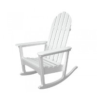 Picture of Polywood Adirondack ADRC-1, Recycled Plastic Outdoor Rocker Chair