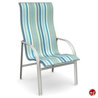Picture of Homecrest Florida 3J379, Outdoor Aluminum Sling High Back Dining Chair