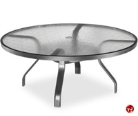 "Picture of Homecrest 1747501, Outdoor Glass 48"" Round Chat Table"