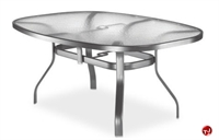 Picture of Homecrest 0767501, Outdoor Glass Boat Shape Bar Table