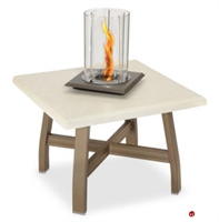 "Picture of Homecrest Airo2 Venturi Flame 2024FP, Outdoor Firepit, 24"" Square Table"