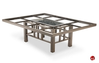 Picture of Homecrest 5550B Burner Firepit, Outdoor Firepit with Open Tile Table Top