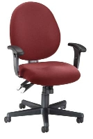 Picture of OFM 242, Mid Back Ergonomic Computer Office Task Chair
