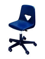 Picture of Scholar Craft 110 Shell Star Plastic Armless Task Teacher Chair