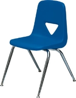 Picture of Scholar Craft 120 Series, 125 Poly Plastic Armless Classroom Stacking Chair
