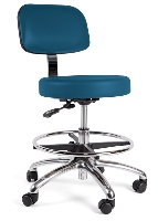 Picture of Stance Bertram S1280, Healthcare Medical Armless Stool, Footring
