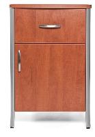 Picture of Stance Gibraltar SG110, Healthcare Medical Bedside Table, 1 Drawer, Door
