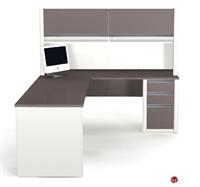 Picture of Bestar Connexion 93859,93859-68 Contemporary L Shape Computer Desk Workstation