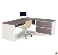 Picture of Bestar Connexion 93862,93862-59 Contemporary L Shape Computer Desk Workstation