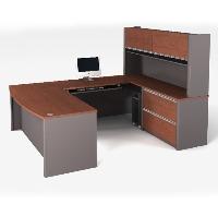 Picture of Bestar Connexion 93863,93863-39 Contemporary U Shape Computer Desk Workstation