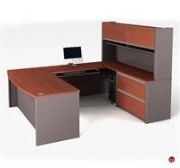 Picture of Bestar Connexion 93863,93863-68 Contemporary U Shape Computer Desk Workstation