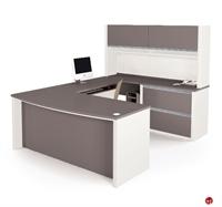 Picture of Bestar Connexion 93863,93863-59 Contemporary U Shape Computer Desk Workstation