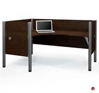 Picture of Bestar Pro-Biz 100854C,100854C-69,L Shape Laminate Office Cubicle Workstation