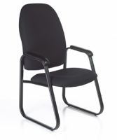 Picture of Guest Side Reception High Back Visitor Sled Base Chair