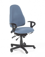 Picture of 24 Hour Mid Back Ergonomic Multi Function Office Task Chair