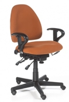 Picture of 24 Hour Low Back Ergonomic Multi Function Office Task Chair