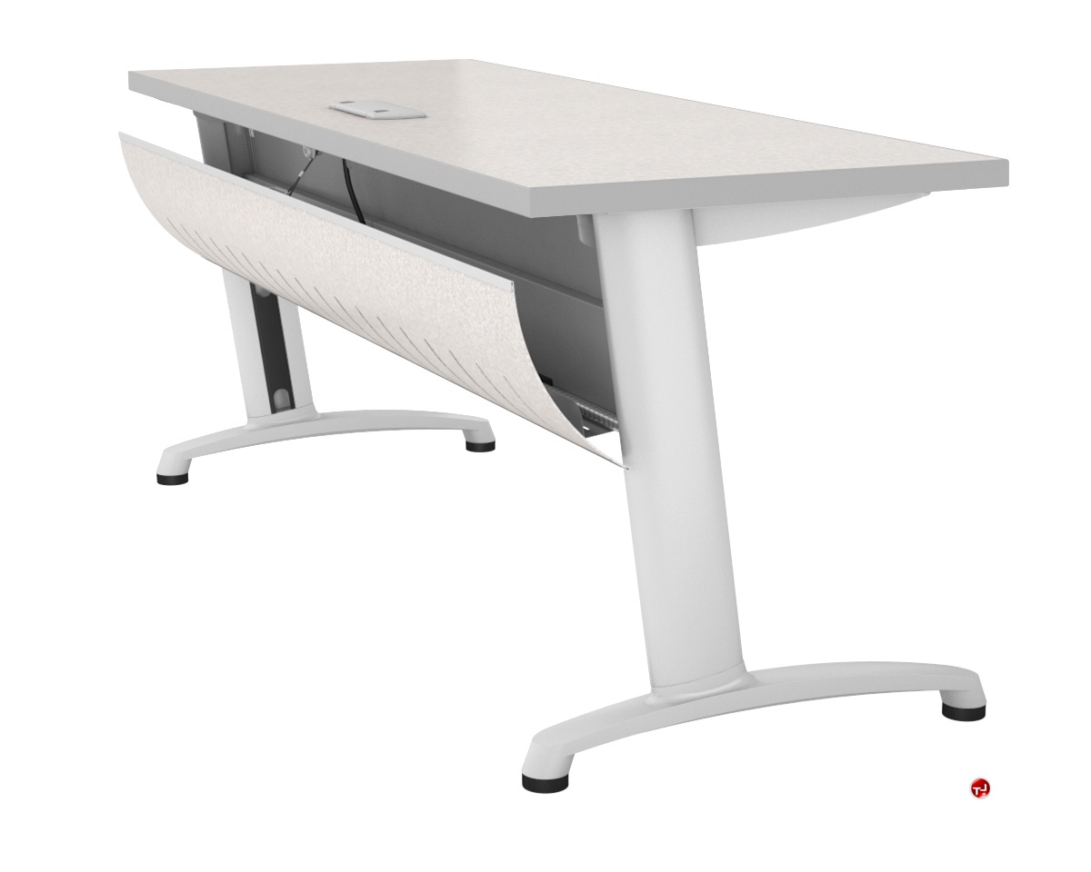 The Office Leader Abco Z Series X Training Table Locking - Abco furniture