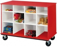 """Picture of 36""""H Open Mobile Classroom Cubbie Storage"""