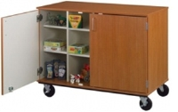 """Picture of 36""""H Closed Mobile Classroom Storage Cubbie"""