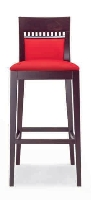 Picture of Valore Amura 3515, Contemporary Armless Cafe Dining Barstool