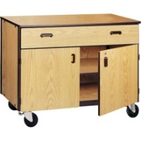 Picture of Ironwood 1019-C, Mobile Closed Low Storage Cabinet