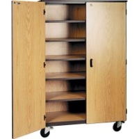 Picture of Ironwood 1041, Mobile Closed Storage Cabinet with Locks