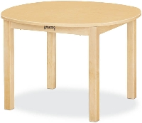 "Picture of Jonti Craft 56024JC, Kids 30"" Round Education Activity Dining Table"