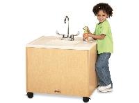 Picture of Jonti Craft 1360JC011, Mobile Portable Sink - Plastic
