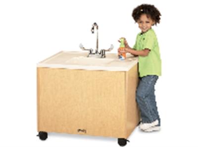 Plastic Portable Sink : ... Office Leader. Jonti Craft 1360JC011, Mobile Portable Sink - Plastic
