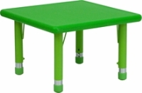 "Picture of 24"" Adjustable Plastic School Kids Play Table"