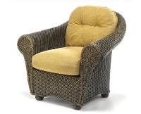 Picture of Whitecraft Bravo S395011, Outdoor Wicker Cushion Lounge Chair