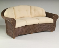 Picture of Whitecraft Bravo S395081, Outdoor Wicker Cushion Three Seat Crescent Chair