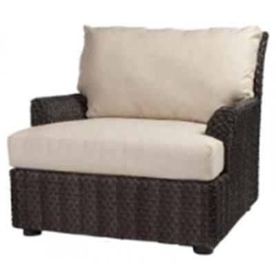 Picture of Whitecraft Aruba S530011, All Weather Wicker Cushion Lounge Chair
