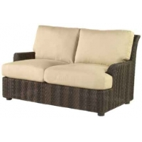 Picture of Whitecraft Aruba S530021, All Weather Wicker Cushion Loveseat Chair Sofa