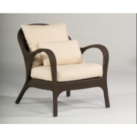 Picture of Whitecraft Bali S533011, All Weather Outdoor Wicker Cushion Lounge Chair