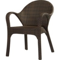 Picture of Whitecraft Bali S533511, All Weather Outdoor Wicker Dining Chair