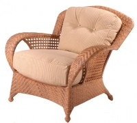 Picture of Whitecraft Boca S594011, All Weather Outdoor Wicker Cushion Lounge Chair