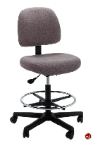 Picture of Cramer Fusion FSLM4, 24/7 Ergonomic Armless Task Stool Chair, Footring, ESD