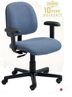 Picture of Cramer Centris CELD4, Mid Back Ergonomic Office Task Chair, ESD